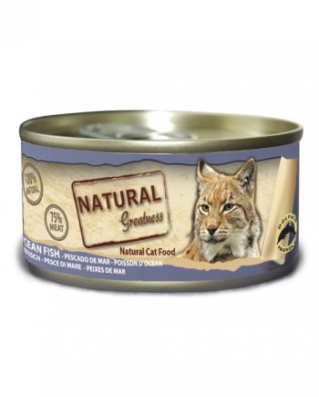 latas natural greatness para gatos