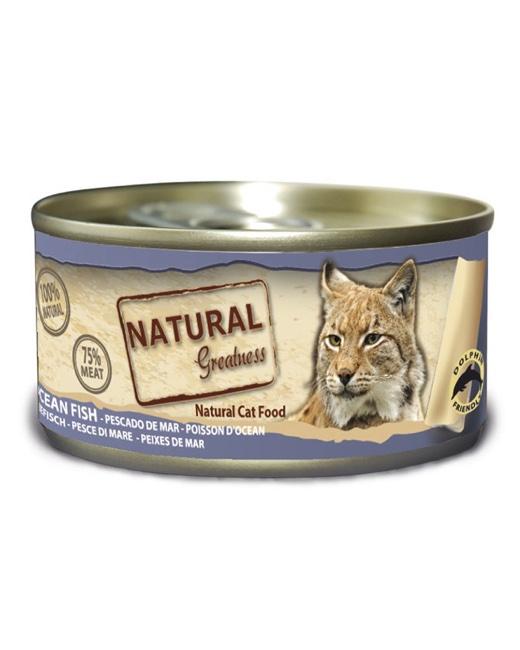 latas natural greatness para gatos