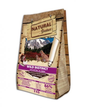 Natural Greatness Wild Instinct: sin cereales