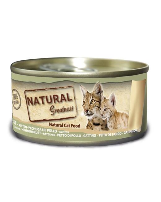 latas natural greatness cachorros