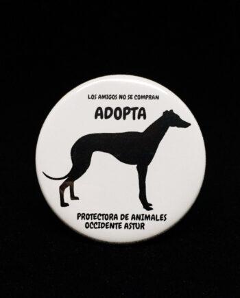Chapa PERRO - A.P.A OCCIDENTE ASTUR