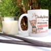 Taza Perruna Yorkshire Terrier