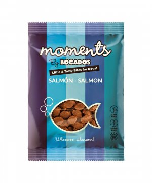 Moments by Bocados: Snacks de Salmón para perros