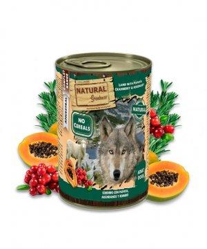Natural Greatness Cordero con Papaya