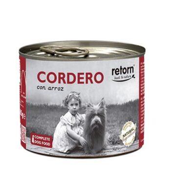 Lata Retorn Cordero con arroz