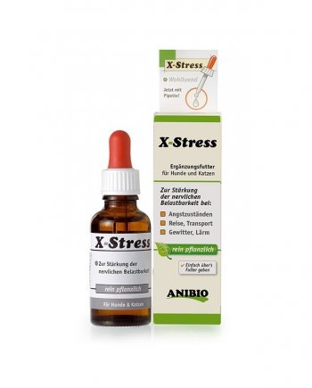 X-stress - Calmante Natural para perros y gatos