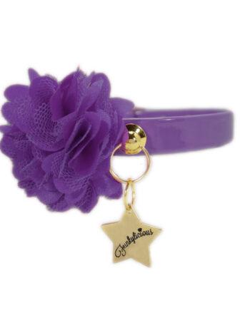 Collar Funkylicious Flor Violeta