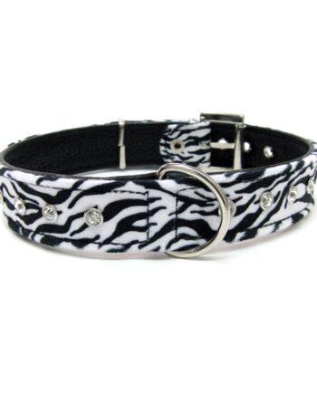 Collar Artesanal Zebra Look