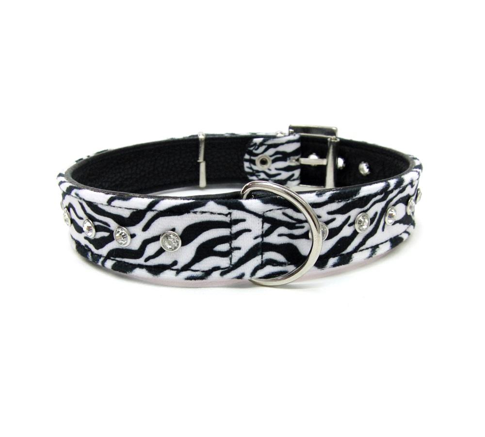 collar artesanal zebra look desde 28 90 ole tus huellas. Black Bedroom Furniture Sets. Home Design Ideas