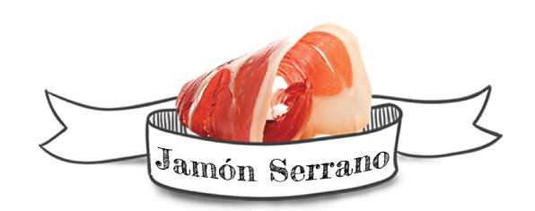 Jamón Serrano Snacks Mediterranean Natural