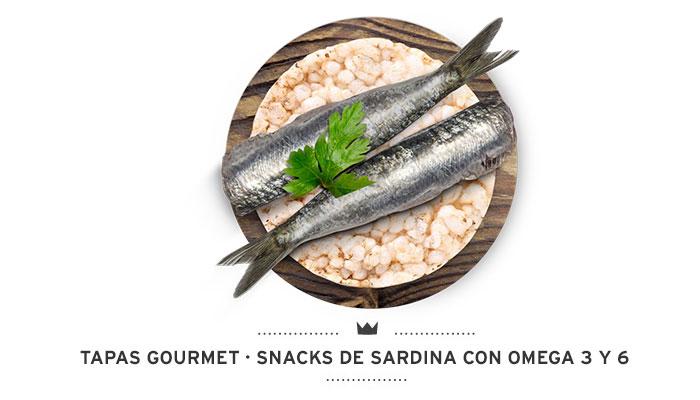 Tapas Gourmet Sardinas