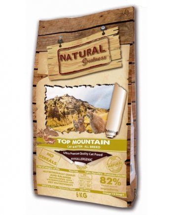 Natural Greatness Top Mountain: sin cereales