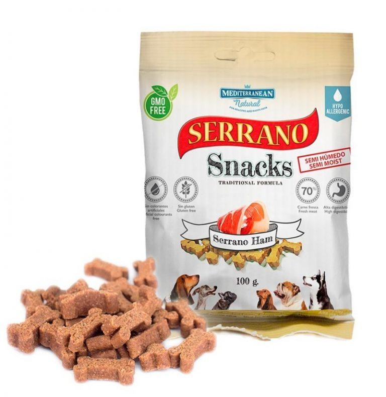 Snacks Mediterranean Natural Jamón Serrano
