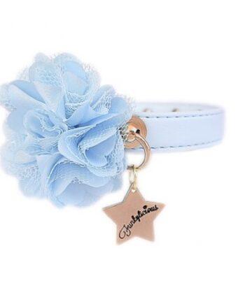 Collar Funkylicious Flower Azul