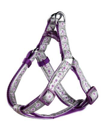 Arnés Frozen Reflectante Púrpura