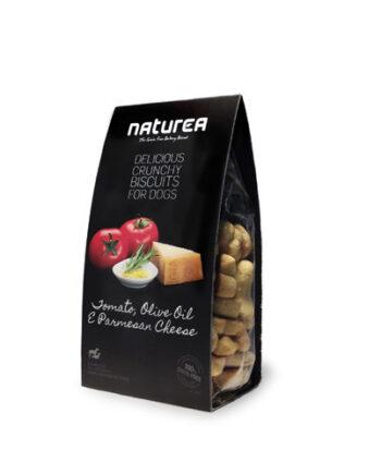 Galletas Artesanas Naturea: Tomate, Aceite de oliva y Queso Parmesano