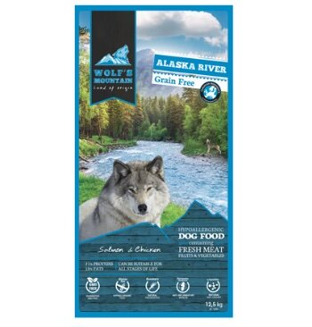 Wolf´s Mountain Alaska River: sin cereales