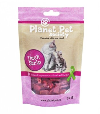 Planet Pet Snacks Pato fresco