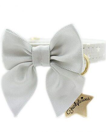 Collar Funkylicious Cute Bow Gris