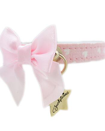 Collar Funkylicious Cute Bow Rosa