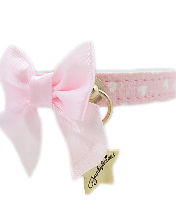 Collar Funkylicious Cute Bow Rosa