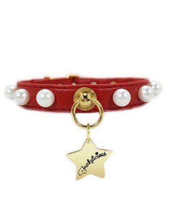 Collar Funkylicious New Pearls Rojo