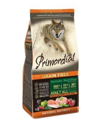 Primordial Adult Pollo y Salmón