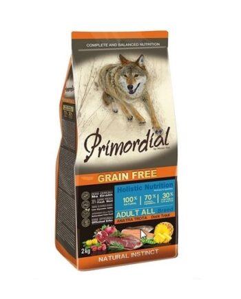 Primordial Adult Trucha y Pato: sin cereales
