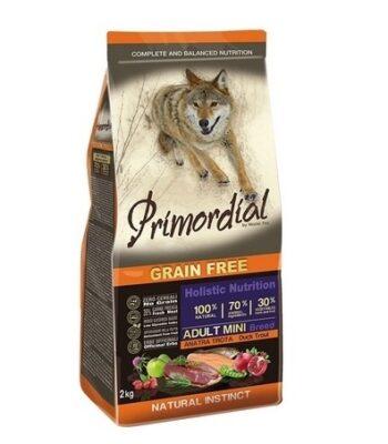 Primordial Mini Adult Trucha y Pato: sin cereales