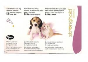 Pipetas Stronghold para Perros y Gatos