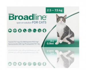 Pipetas Broadline para Perros y Gatos