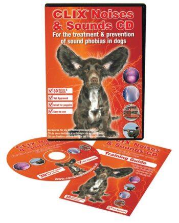 CD Ruidos y Sonidos para perros y cachorros