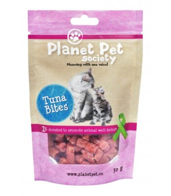 Planet Pet Snacks Atún y Bacalao: sin cereales