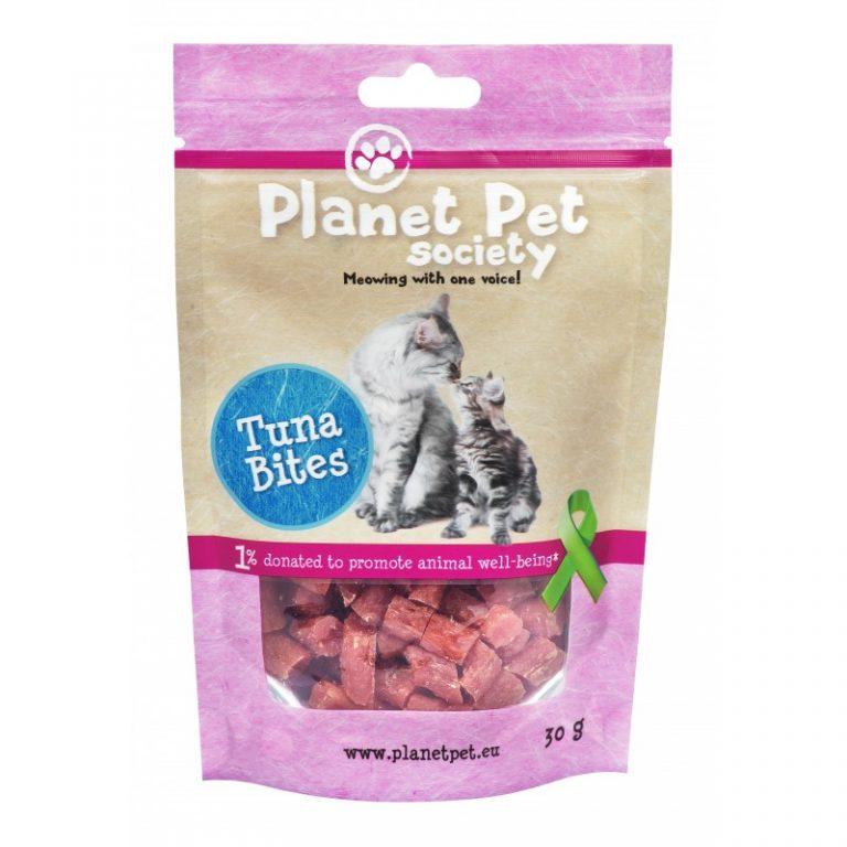 Planet Pet Snacks Atún y Bacalao: sin cereales