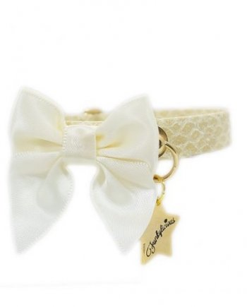 Collar Funkylicious Snake Bow Ivory