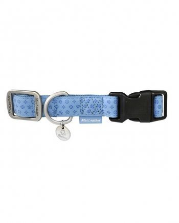 Collar MacLeather azul