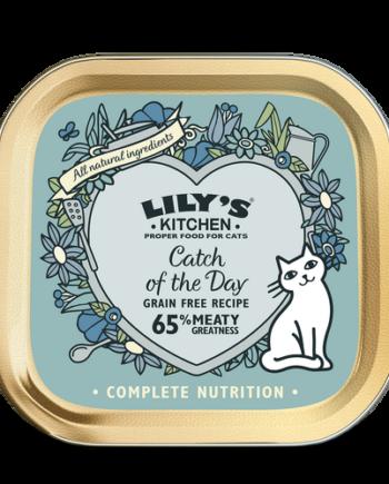 Lily´s Kitchen Salmón con gambas para gatos