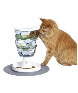 Comedero Laberinto para Gatos