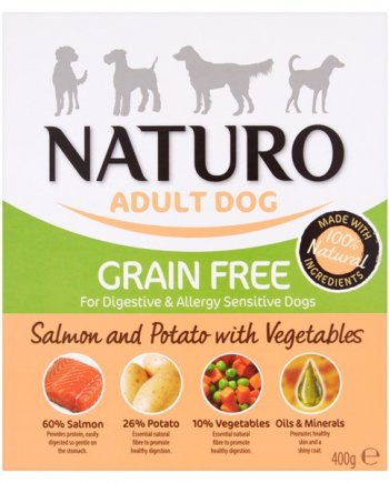 Naturo Mousse Salmón para perros