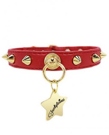 Collar Funkylicious New Baby Punk Rojo