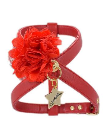 Arnés Funkylicious New Flower Rojo