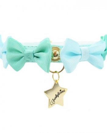 Collar Funkylicious Candy Bow Mint