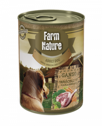 Farm Nature Ganso con Brócoli y Zanahoria (400gr)