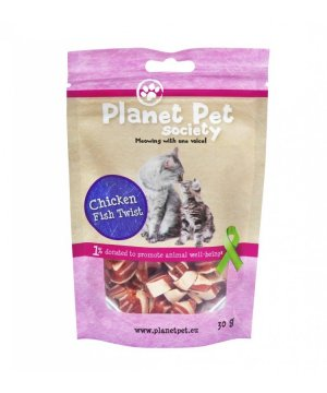 Planet Pet Snacks Pollo y Bacalao