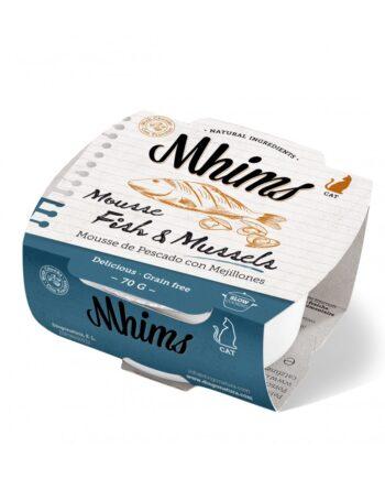 Mhims Mousse Pescado blanco con Mejillones