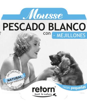 Mousse Retorn Pescado Blanco con Mejillones