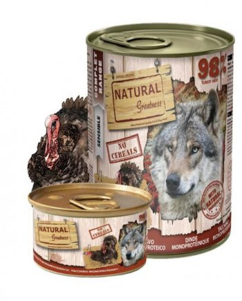 Natural Greatness Monoproteica Pavo 400gr