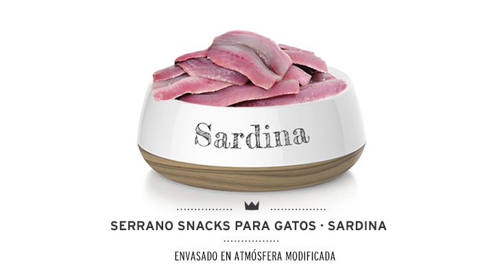 Snacks Sardina Mediterranean Natural para gatos