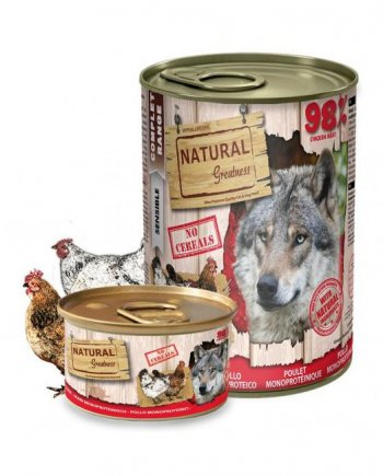 Natural Greatness Monoproteica Pollo 400gr.