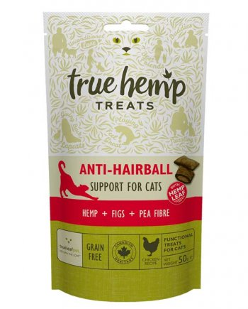 True Hemp Premios Anti-Hairball Para Gatos